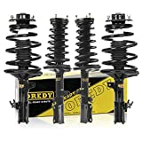 OREDY Full Set 4Pcs Front Rear Complete Shocks Struts Coil Spring Assembly Kit Compatible with Camry/ES300 1997-2001 and Avalon 1999-2003#271680 271681 271678 271679