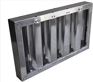 Kleen Gard Aluminum Restaurant Hood Filter - All Sizes Availible (10x16)