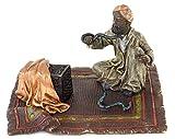 Arte & Ambiente – Bronce Viena – Figuras de serpiente – Figura oriental – Bronce – Alfombra oriental – Bronce – Vienna