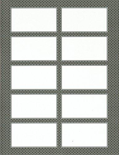 Gartner Studios Gray Business Cards, 3 1/2' x 2', Pack Of 250