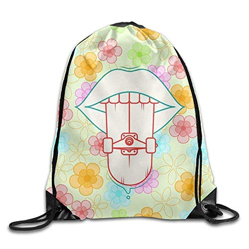 Etryrt Turnbeutel/Bedruckte Sportbeutel, Premium Drawstring Gym Bag, Sack Bag Skateboard New Cinch Bags Drawstring Backpack Drawstring Backpack Michigan