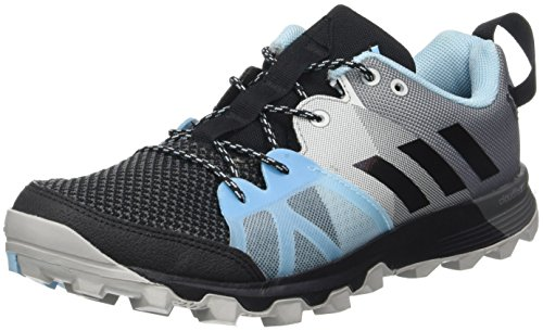 adidas Kanadia 8.1 TR W, Zapatillas de Running para Mujer, Negro (Negro-(Negbas/Negbas/AZUHIE), 38 2/3 EU
