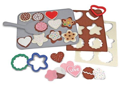 Melissa & Doug - 13955 - Loisir Créatif - Aliments en feutre - jeu de biscuits