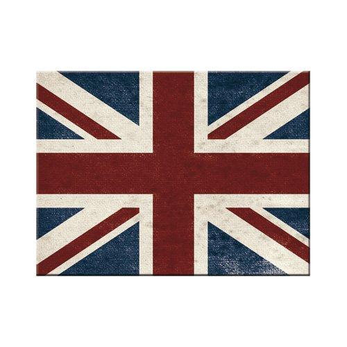 Nostalgic-Art 14292 United Kingdom Union Jack Magnet, 8 x 6 cm