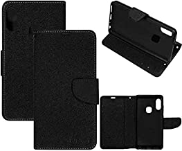 RidivishN® Samsung Galaxy M30 Flip Cover Case [Shock Proof,Magnetic Closure,360 Degree Dual Protection] Flip Covers Cases for Samsung Galaxy M30 (Black)