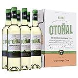 Otoñal - Vino Blanco Verdejo de Rueda, Bodegas Olarra, Pack de 6 Botellas de 750 ml