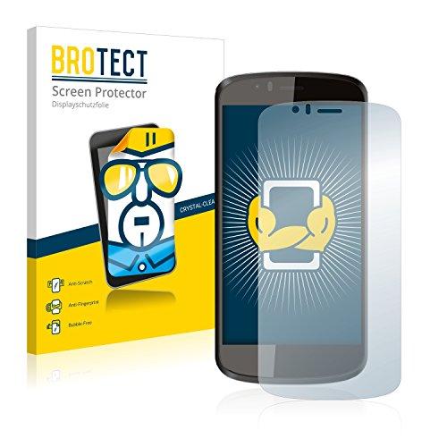BROTECT Schutzfolie kompatibel mit Archos 50 Cesium (2 Stück) klare Bildschirmschutz-Folie