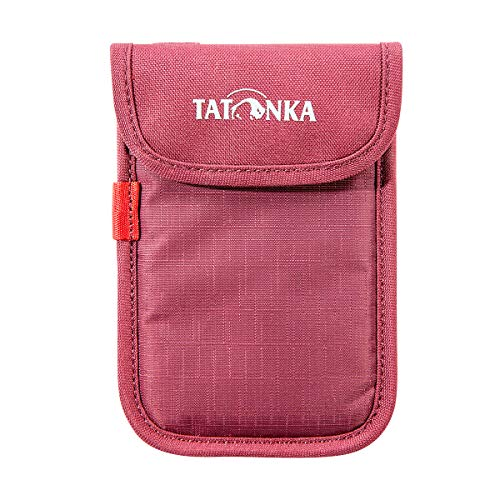 Tatonka Case Smartphone Tasche, Bordeaux red, 9,5 x 14 x 1 cm