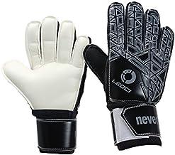 Leoci Soccer Goalie Gloves(Sizes 6-9) - Indoor & Outdoor Soccer Goalkeeper Gloves for Junior or Adult