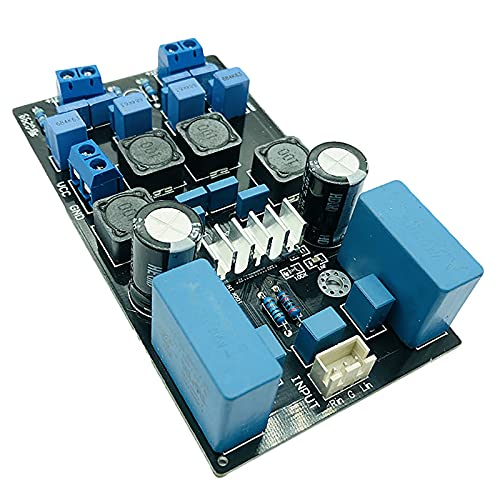 Timagebreze Placa de SeeAl de Condensador ElectrolíTico YJ00283 TPA3116 VersióN Oficial 50W + 50W DC18-24V SeeAl de Condensador ElectrolíTico