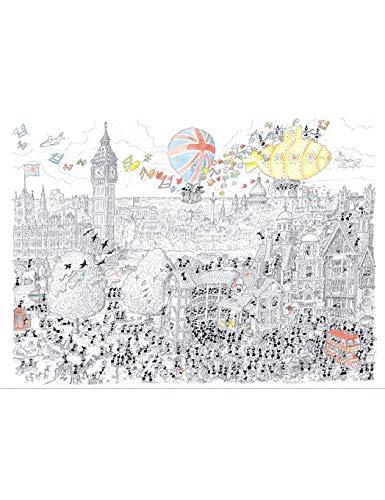Akena Londra Puzzle, fv2420, Multicolore