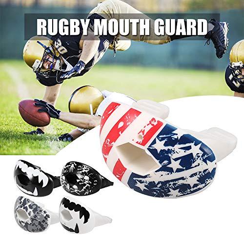Festnight Rugby Mundschutz Food Grade Zahnschutz American Football Mundschutz Lippenschutz