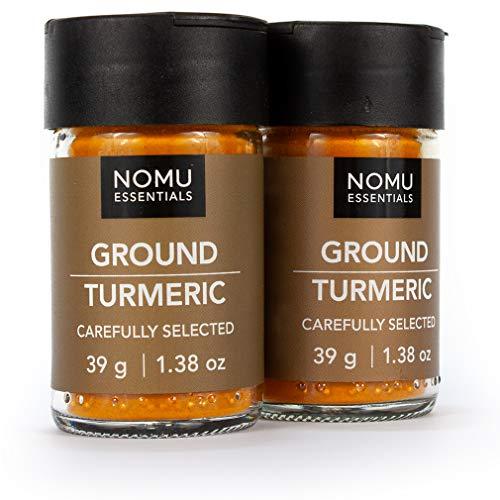 NOMU Essentials Ground Turmeric Spice (2.76 oz | 2-pack) | Non-GMO, Non-Irradiated