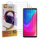 Guran 4 Paquete Cristal Templado Protector de Pantalla para Lenovo K5 Pro Smartphone 9H Dureza Anti-Ara?azos Alta Definicion Transparente Película