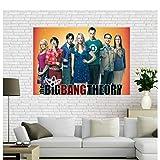MGSHN Big_Bang_Theory Bild Poster Leinwandmalerei
