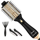 Hair Dryer Brush,Aibesser Dryer and Volumizer Hot Air Brush,Blow Dryer Brush with ION Generator, and Ceramic Coating for Anti-Frizz Fast Drying, Blowouts and Styler for All Hair Types