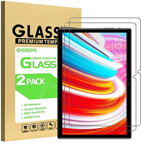 GOZOPO Protector de Pantalla para Teclast M40 de 10,1 pulgadas, Película de Vidrio Templado [Resistente a los Arañazos] [9H Dureza] 2-Pack