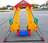 Double Baby Swing Cute Style Two Seats(face to face) Indoor and Outdoor Swings