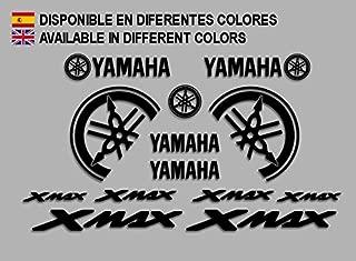 Blanco Ecoshirt RO-N6QI-KKWI Pegatinas Moto Xmax GP R81 Stickers Aufkleber Decals Autocollants Adesivi