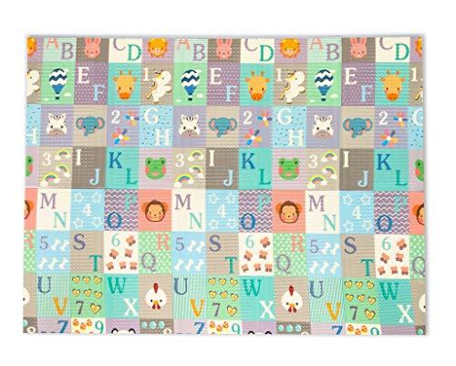 Tapete Abcidade 1.5_2.0 Dobravel, Ibimboo, Multicolorido, Grande