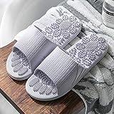 WUHUI Zapatos de Playa y Piscina para Niños, Chanclas de Playa y Piscina Hombre, Zapatillas de Masaje de baño Antideslizantes de Verano para Mujer, Purple_38-39