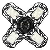 01 Bergbaulampe, hochwertige Garagenlampe, Lager-LED-Licht, vierblättrige Garagenleuchten, für Werkstatt, Scheunengarage