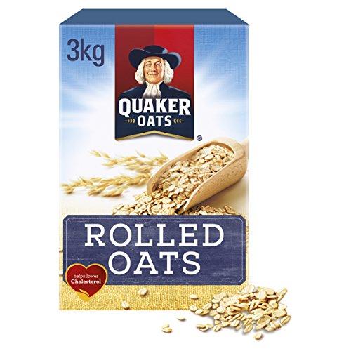 Quaker Porridge Oats - Pack Size = 1x3kg