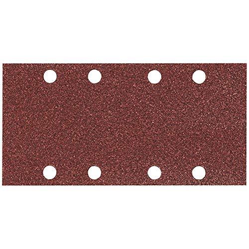 MAKITA P-31871 P-31871-Pack 10 lijas Perforadas con Velcro 93x185 mm para BO3700-9036-BO3711 Grano 40, 0 V, Negro