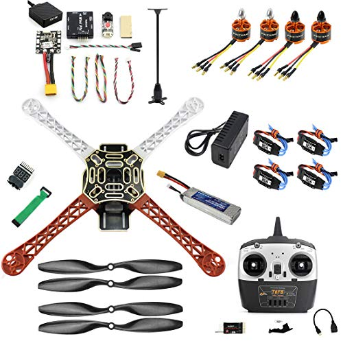 FEICHAO FAI DA Te Drone F450 Mini RC Hexacopter Disassemblare Kit 8CH FPV Upgrade con Radiolink Mini PIX M8N GPS Altitude Hold Modello