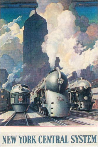 Posterlounge Acrylglasbild 60 x 90 cm: New Yorker Zentrale (englisch) von Travel Collection - Wandbild, Acryl Glasbild, Druck auf Acryl Glas Bild