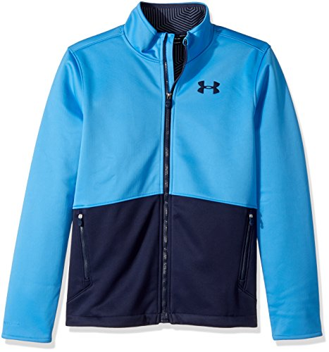 Under Armour Outerwear Boy's Under Armour Boys' Storm Softershell Jacket, Mako Blue/Midnight Navy, Youth Small