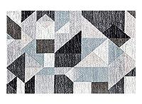 長方形のカーペット3d幾何学的な敷物ポリエステルカーペット敷きの北欧フロアマットリビングルーム寝室ホームコーヒーテーブル(160 * 230 cm)-H-160
