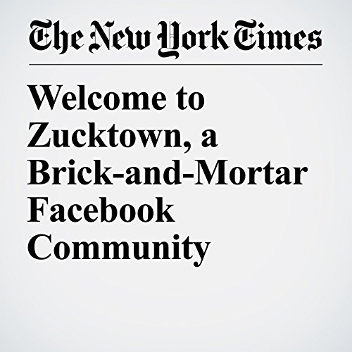 Welcome to Zucktown, a Brick-and-Mortar Facebook Community copertina