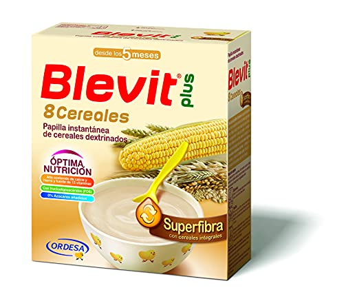 Blevit Plus Superfibra 8 Cereales, A Partir de Los 5 Meses, 600g
