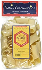 17.6 ounce (500 gram) Ingredients: Durum wheat semolina, water IGP Protected - Protected Geografical Information The Italian Pasta di Gragnano is chewier, nuttier and more rough textured than most supermarket brands Imported from Gragnano, Italy
