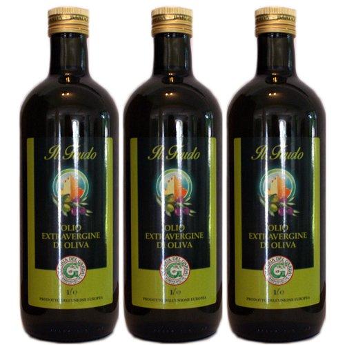 3x Olearia Del Garda Olivenöl Extra Vergine 'Il Feudo', 1000 ml