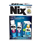 Nix Complete Lice Treatment Kit | Kills Lice and Eggs | 4 Products