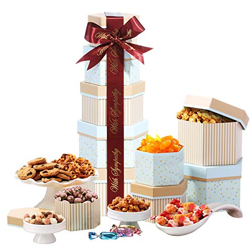 Broadway Basketeers With Sympathy Gift Basket