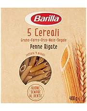 5 Pasta Barilla 5 Cereali Penne 5 cereales italianos de cereales, 400 g