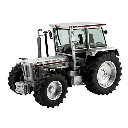 Schuco 450762300 - Traktor Schlüter Compact, Masstab 1:32, Auto Und Verkehrsmodell, silber
