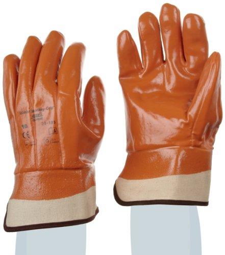 Ansell Winter Monkey Grip 23-193 Guanto per Usi Speciali, Protezione Meccanica, Marrone, Taglia 10 (Sacchetto di 12 Paia)