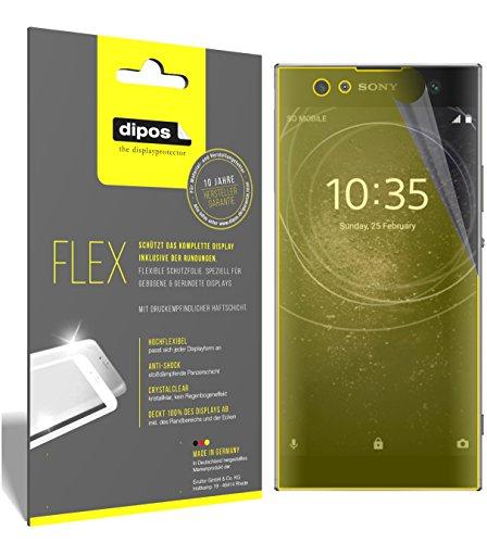 dipos I 3X Schutzfolie 100prozent kompatibel mit Sony Xperia XA2 Ultra Folie (Vollständige Bildschirmabdeckung) Bildschirmschutzfolie
