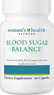 Blood Sugar Balance by Women's Health Network - Natural Support for Healthy Blood Sugar Levels with Cinnamon, Chromium, Glucomannan, Banaba, COQ10, Vitamin B12 and More (1)