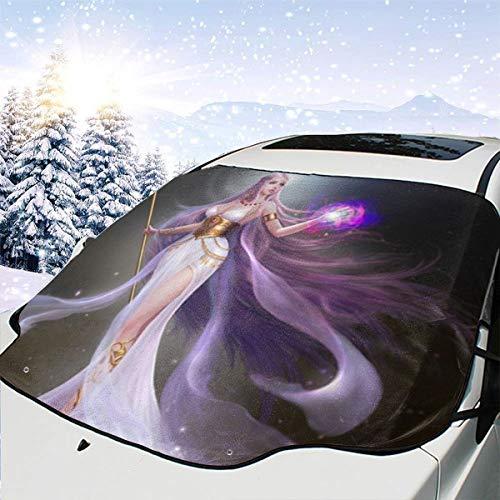 remmber me Zwölf Sternbilder Virgo Automotive Windschutzscheibe Schneedecken 57.9X46.5 Zoll für Jeep Trucks Suvs Mpvs Hält EIS und Schnee fern