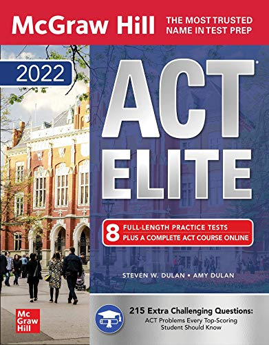 McGraw-Hill Education ACT ELITE 2022