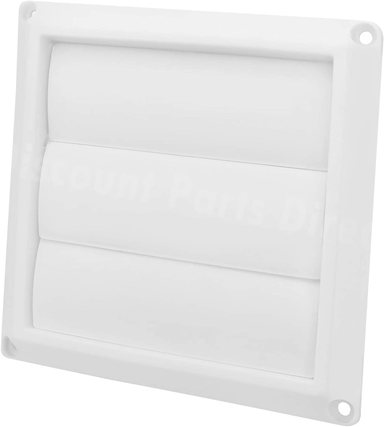 Outdoor Dryer Air Vent Cover Louvered excellence Exteri 4'' shop White Cap