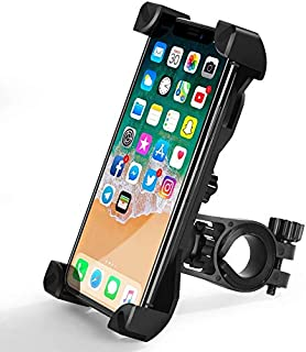 Bike Phone Mount, Bicycle Motorcycle Phone Mount Holder, Universal Handlebar Stand Cradle, Compatible for Most Phone
