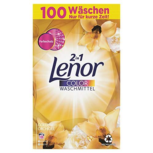 Lenor Waschmittel Goldene Orchidee Colorwaschmittel 100 Waschladungen