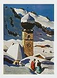 Art-Galerie Kunstdruck/Poster Alfons Walde - Auracher