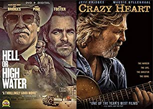 From Bad Blake To A Bad To The Bone Texas Ranger- A Jeff Bridges Double Feature: Hell Or High Water & Crazy Heart Bundle 2-DVD Set